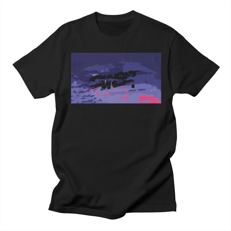 Sunset Men's T-shirt by Petty Designs