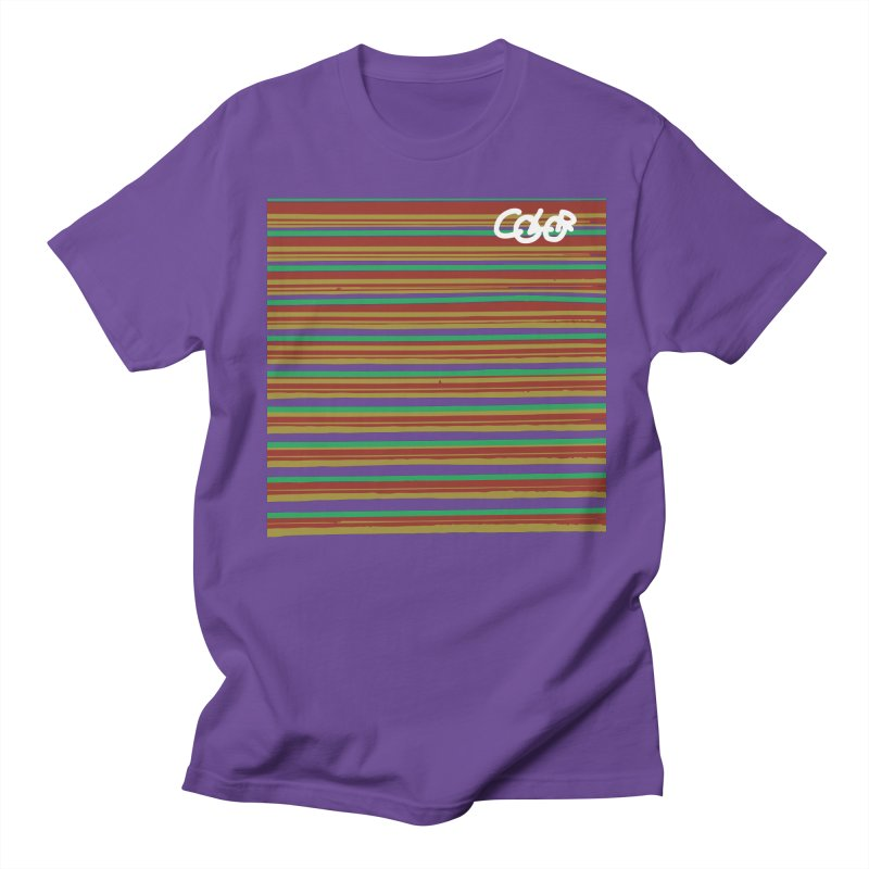 R.G.Y.P. COLOR Collection in Men's T-Shirt Purple by Petty Designs