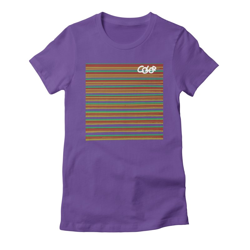 R.G.Y.P. COLOR Collection Women's Fitted T-Shirt by Petty Designs