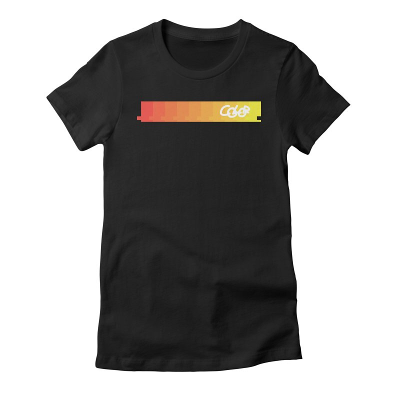 Warm thoughts. COLOR Collection Women's Fitted T-Shirt by Petty Designs