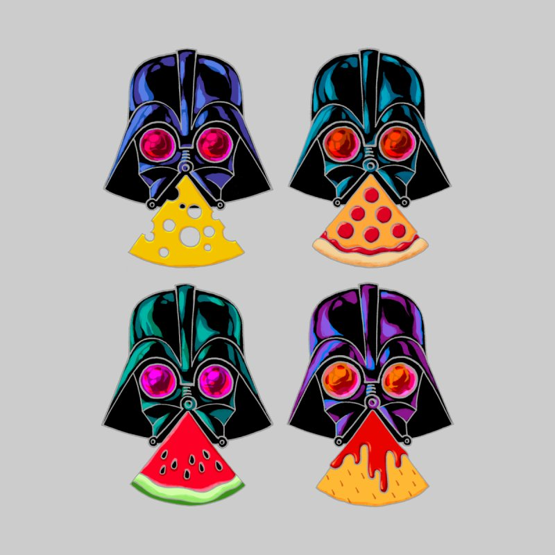 WHAT DOES VADER EAT? Men's T-Shirt by PEZ BANANA
