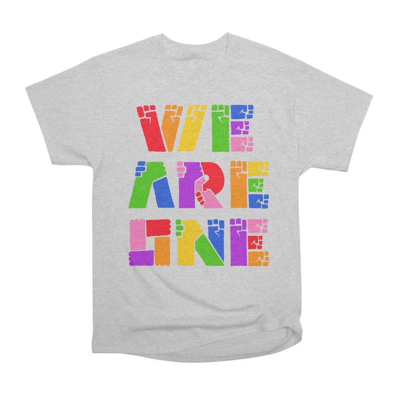 WE ARE ONE PRIDE Men's T-Shirt by PEZ BANANA