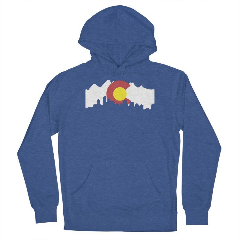 Colorado Flag Men's Pullover Hoody by Peter Fiorella's Shop