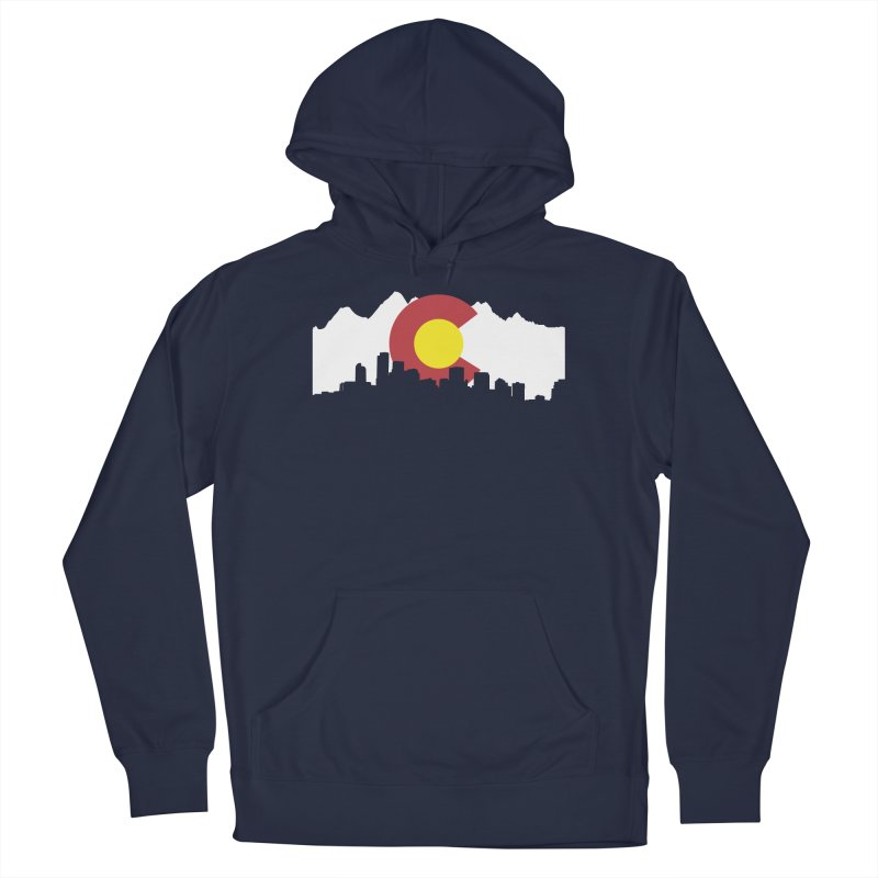 Colorado Flag Men's Pullover Hoody by Peter Fiorella's Shop