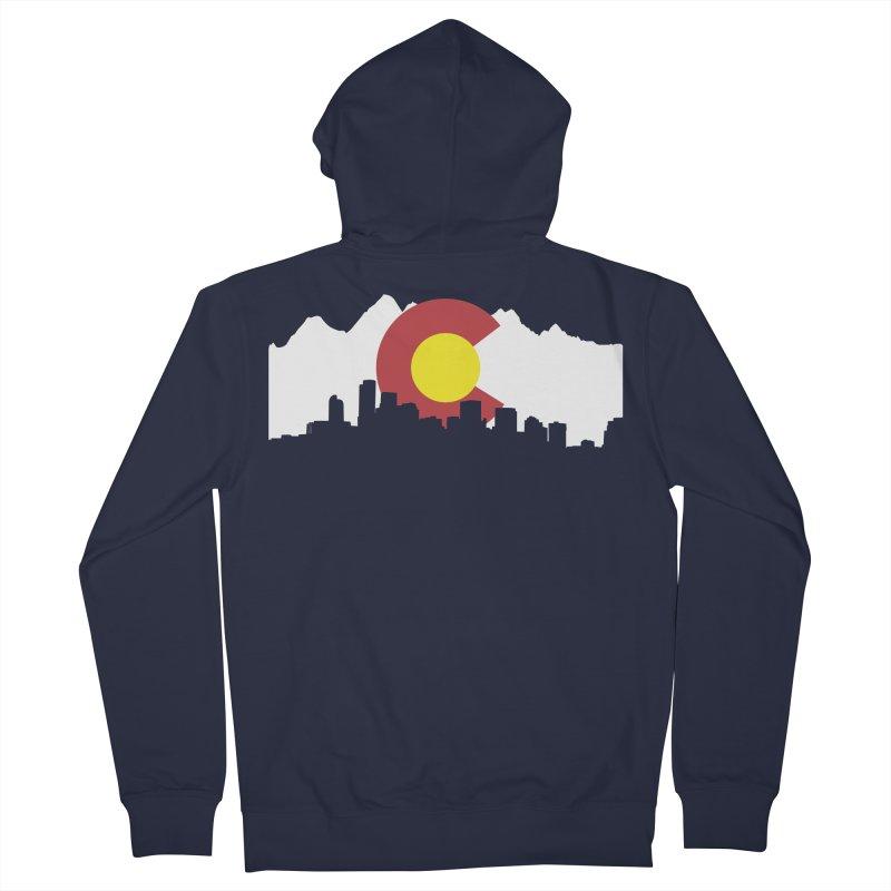 Colorado Flag Women's Zip-Up Hoody by Peter Fiorella's Shop