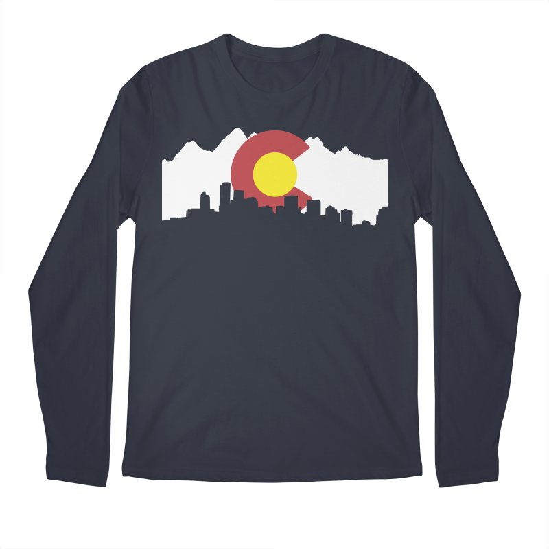 Colorado Flag Men's Regular Longsleeve T-Shirt by Peter Fiorella's Shop