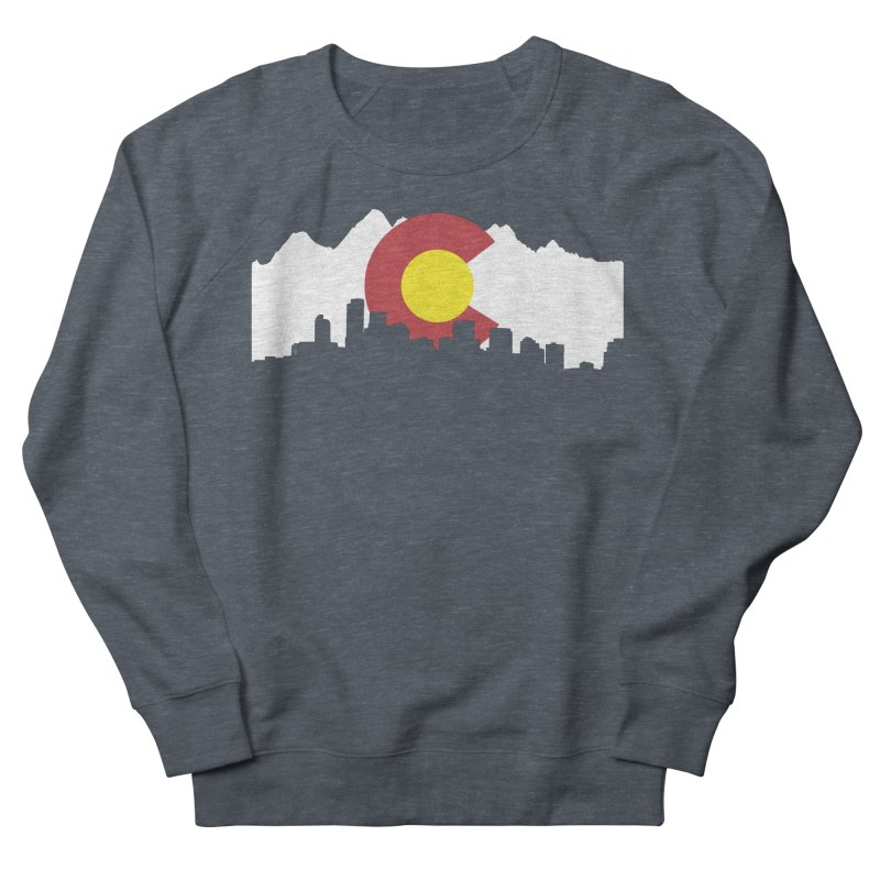 Colorado Flag Women's French Terry Sweatshirt by Peter Fiorella's Shop