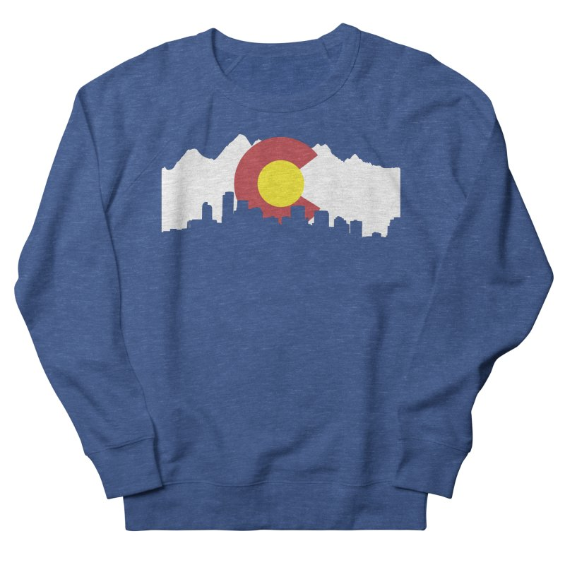 Colorado Flag Men's Sweatshirt by Peter Fiorella's Shop