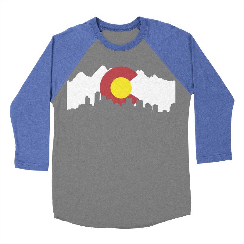 Colorado Flag Women's Baseball Triblend Longsleeve T-Shirt by Peter Fiorella's Shop