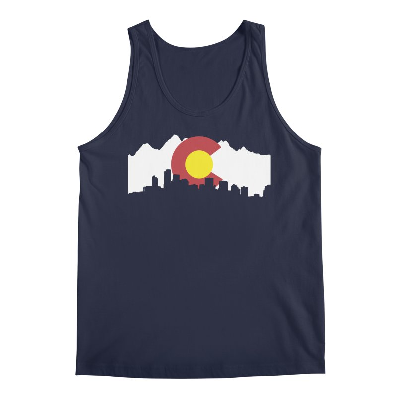 Colorado Flag Men's Tank by Peter Fiorella's Shop