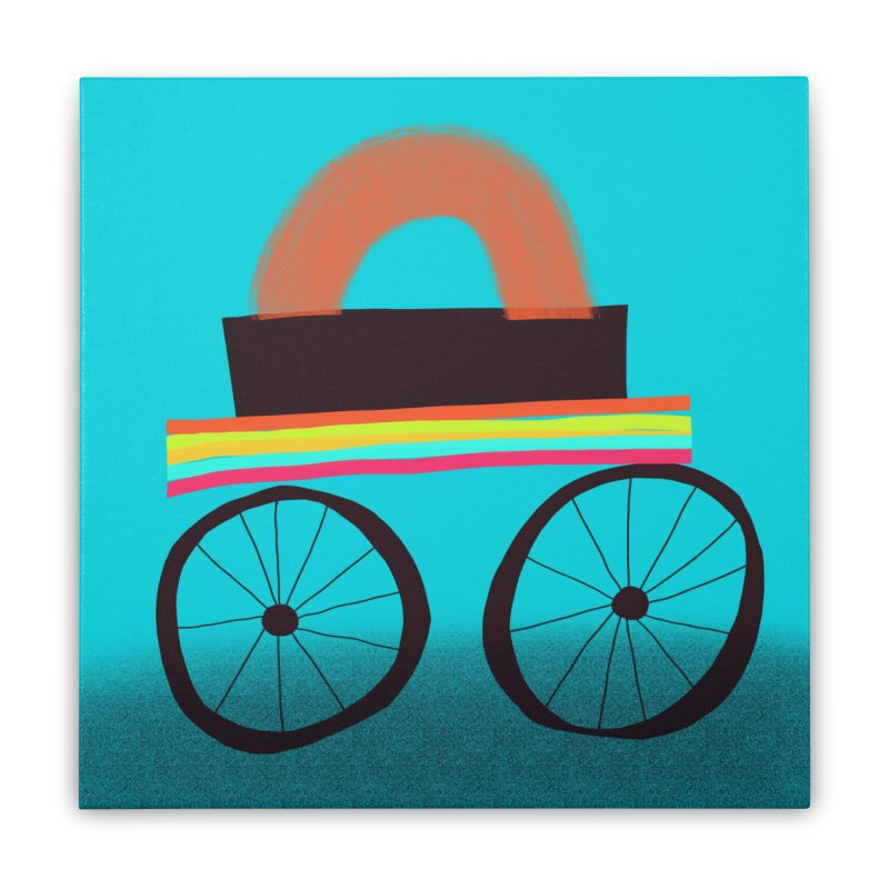 Trolley 1 Home Stretched Canvas by Michael Pfleghaar