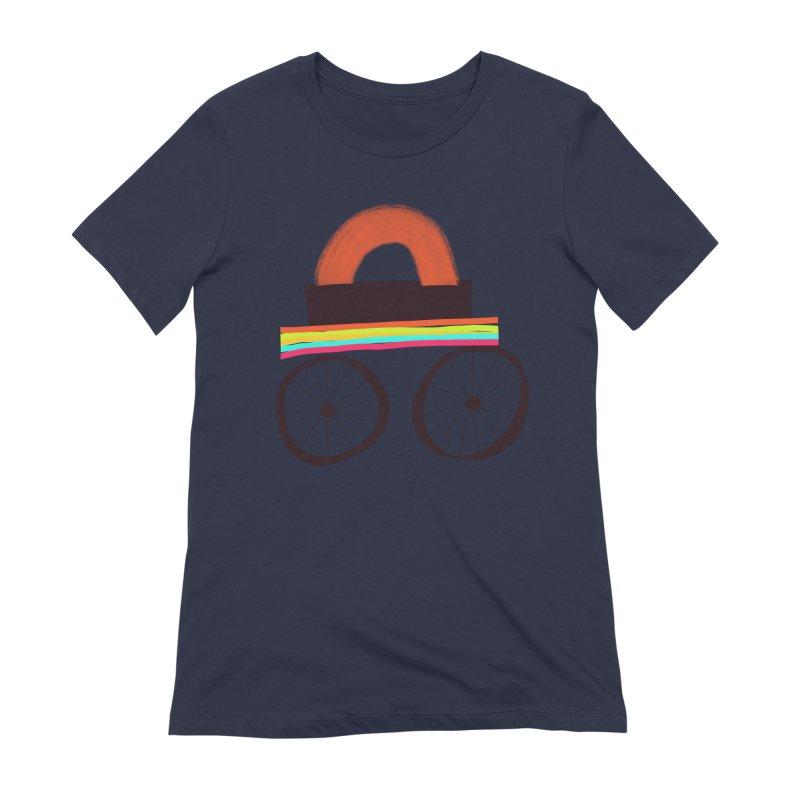 Trolley 1 Women's Extra Soft T-Shirt by Michael Pfleghaar