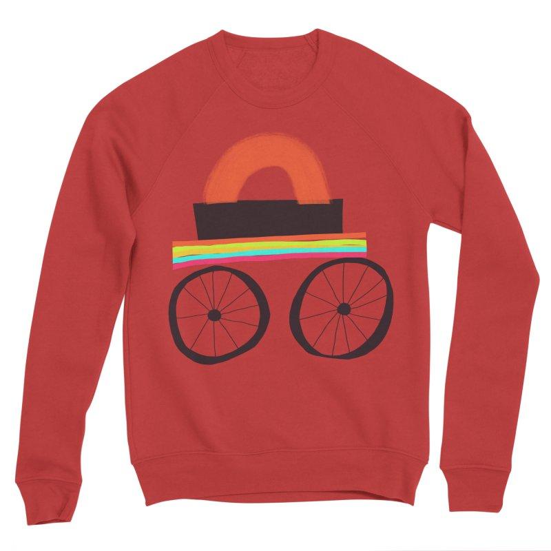 Trolley 1 Men's Sponge Fleece Sweatshirt by Michael Pfleghaar