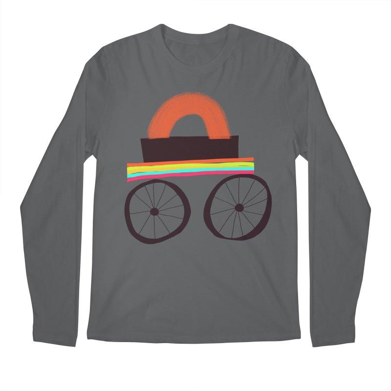 Trolley 1 Men's Regular Longsleeve T-Shirt by Michael Pfleghaar