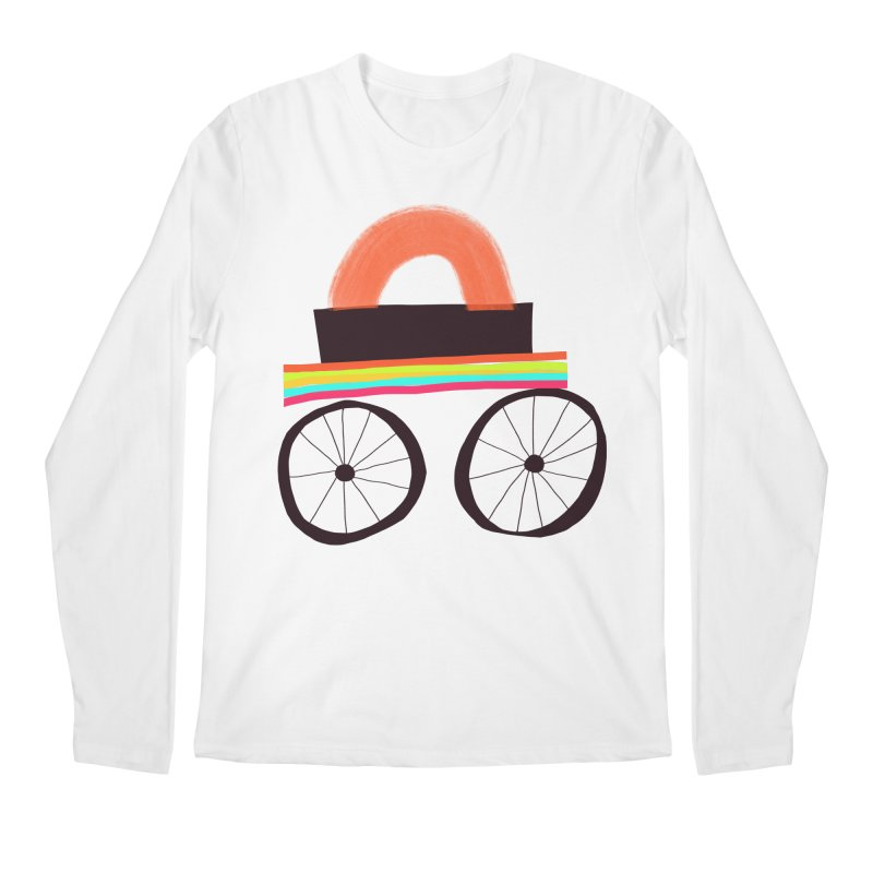 Trolley 1 Men's Regular Longsleeve T-Shirt by Michael Pfleghaar