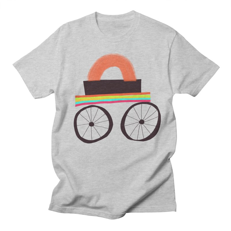 Trolley 1 Men's Regular T-Shirt by Michael Pfleghaar