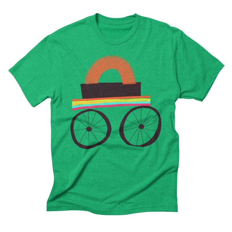Trolley 1 Men's Triblend T-Shirt by Michael Pfleghaar