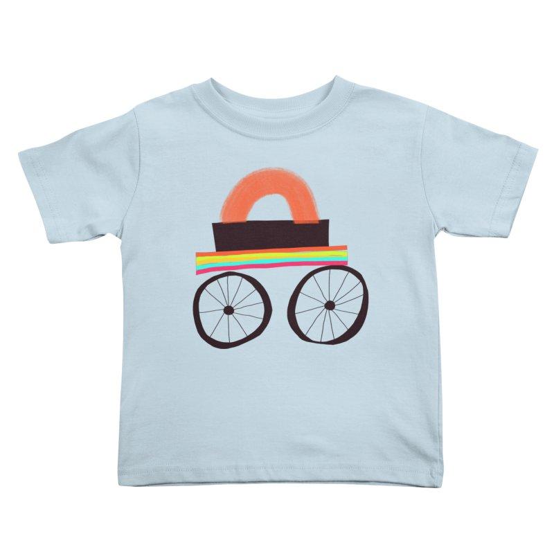 Trolley 1 Kids Toddler T-Shirt by Michael Pfleghaar
