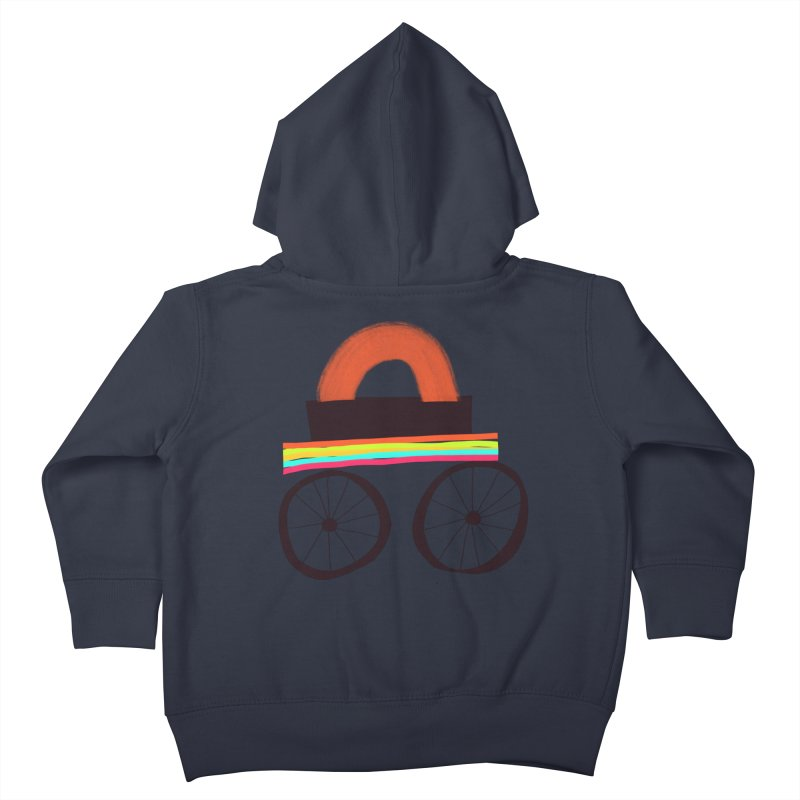 Trolley 1 Kids Toddler Zip-Up Hoody by Michael Pfleghaar