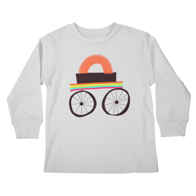 Trolley 1 Kids Longsleeve T-Shirt by Michael Pfleghaar