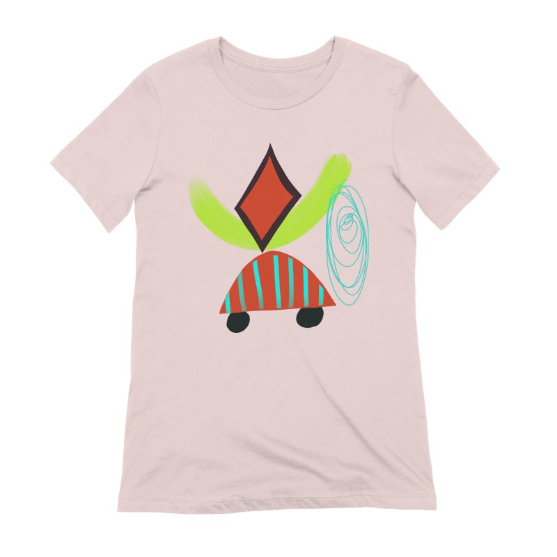 Trolley 2 Women's Extra Soft T-Shirt by Michael Pfleghaar