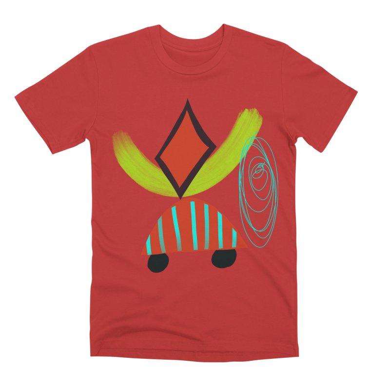 Trolley 2 Men's Premium T-Shirt by Michael Pfleghaar