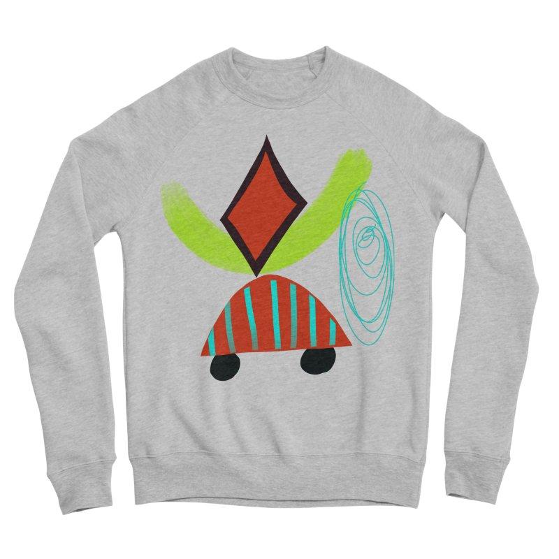 Trolley 2 Men's Sponge Fleece Sweatshirt by Michael Pfleghaar