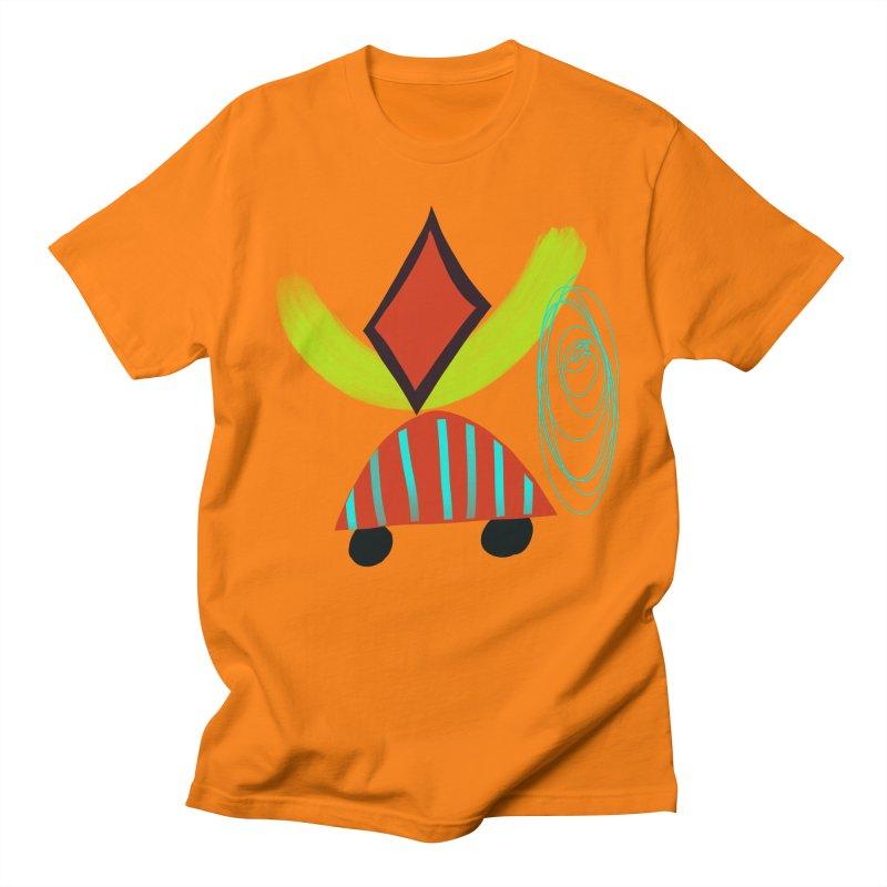 Trolley 2 Men's Regular T-Shirt by Michael Pfleghaar