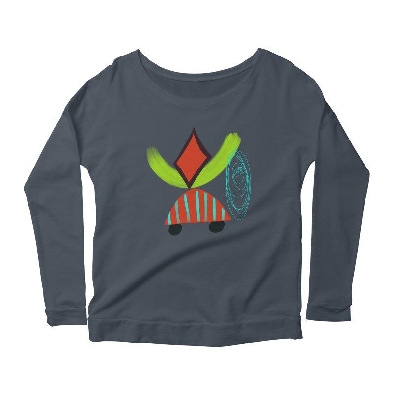 Trolley 2 Women's Scoop Neck Longsleeve T-Shirt by Michael Pfleghaar