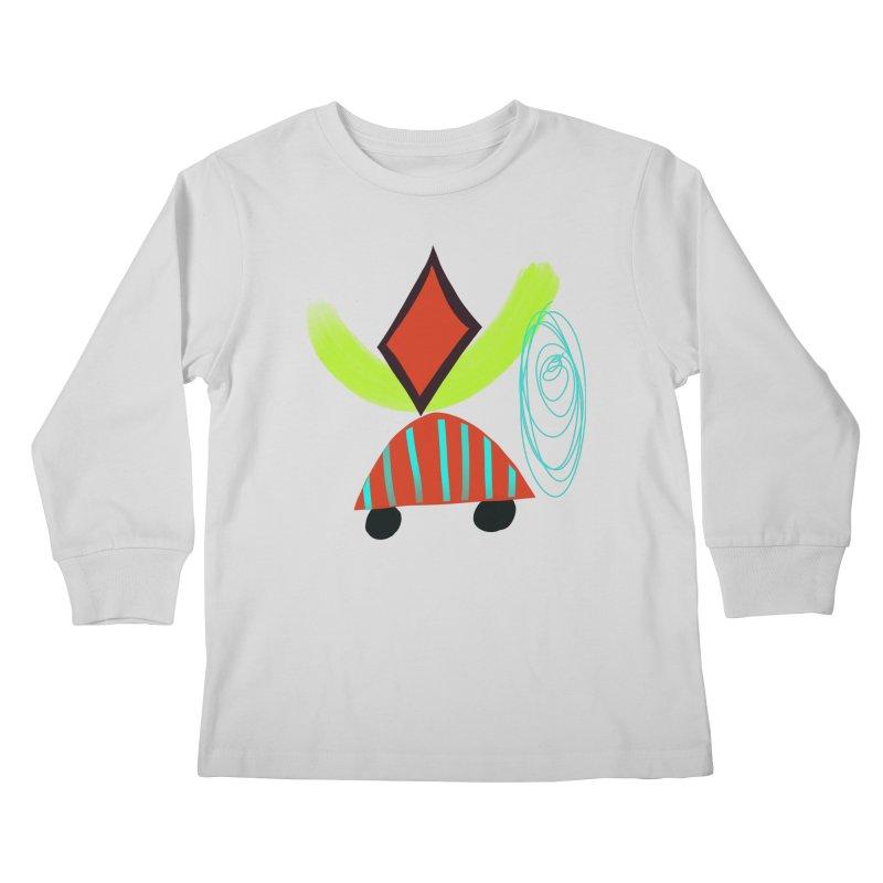 Trolley 2 Kids Longsleeve T-Shirt by Michael Pfleghaar