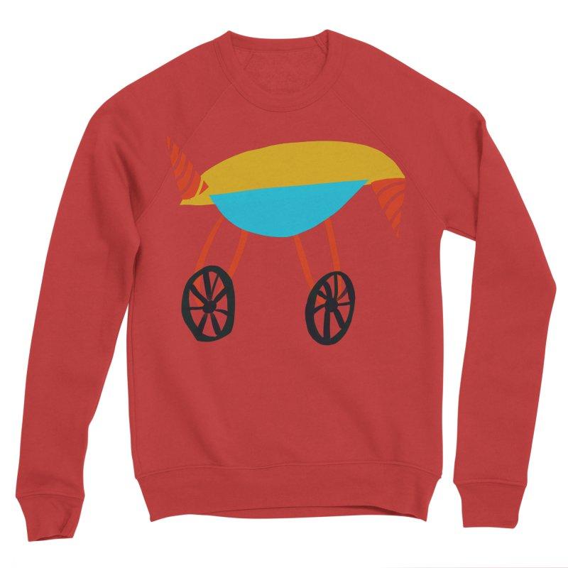 Trolley 3 Men's Sponge Fleece Sweatshirt by Michael Pfleghaar