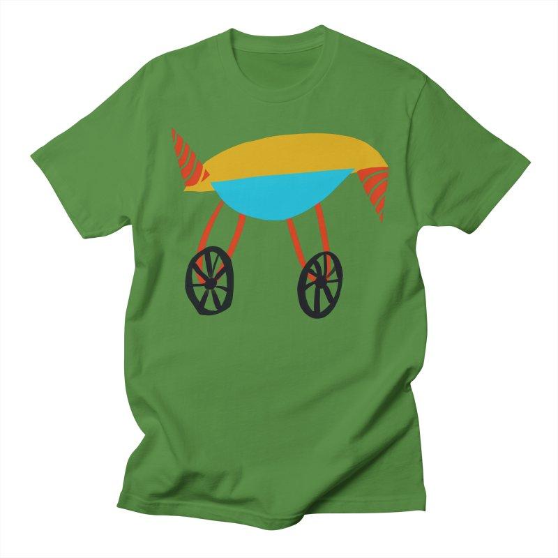 Trolley 3 Men's Regular T-Shirt by Michael Pfleghaar