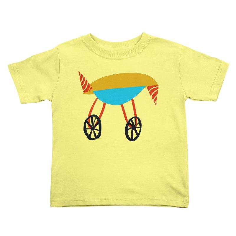 Trolley 3 Kids Toddler T-Shirt by Michael Pfleghaar