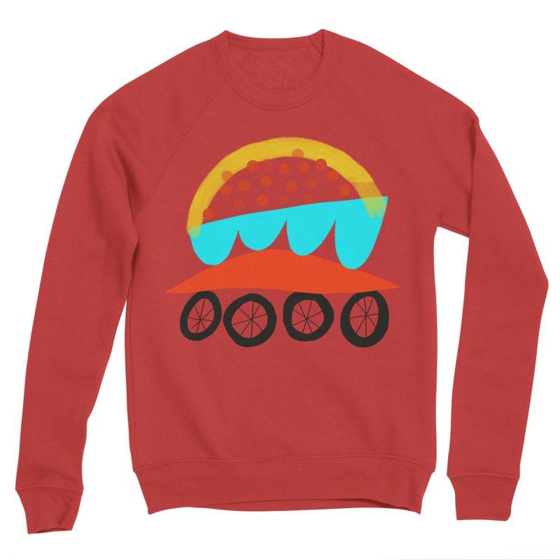 Trolley 4 Men's Sponge Fleece Sweatshirt by Michael Pfleghaar