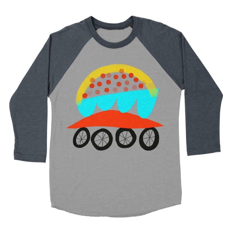 Trolley 4 Women's Baseball Triblend Longsleeve T-Shirt by Michael Pfleghaar
