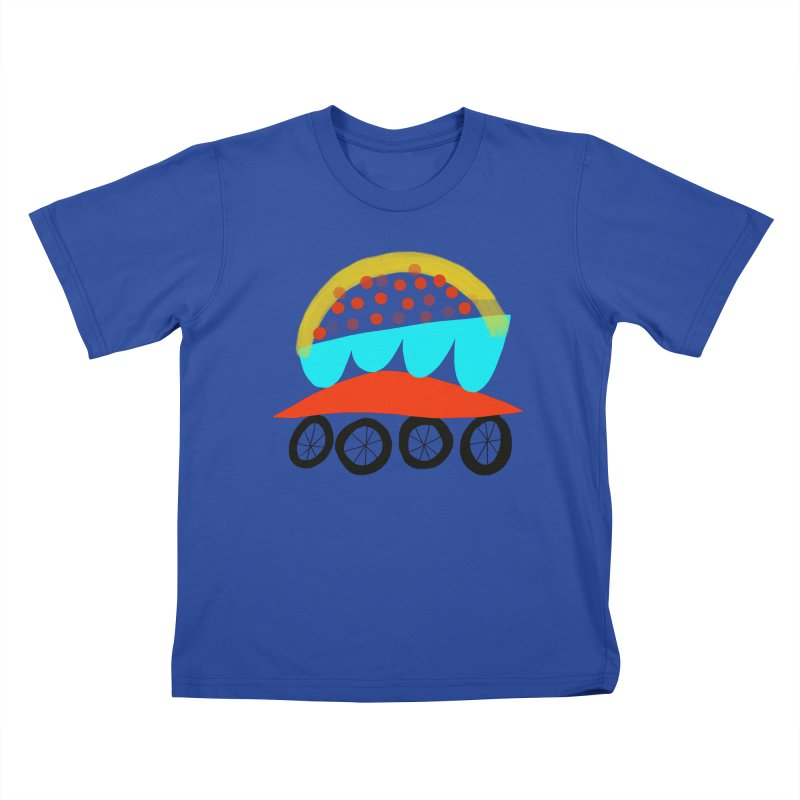 Trolley 4 Kids T-Shirt by Michael Pfleghaar