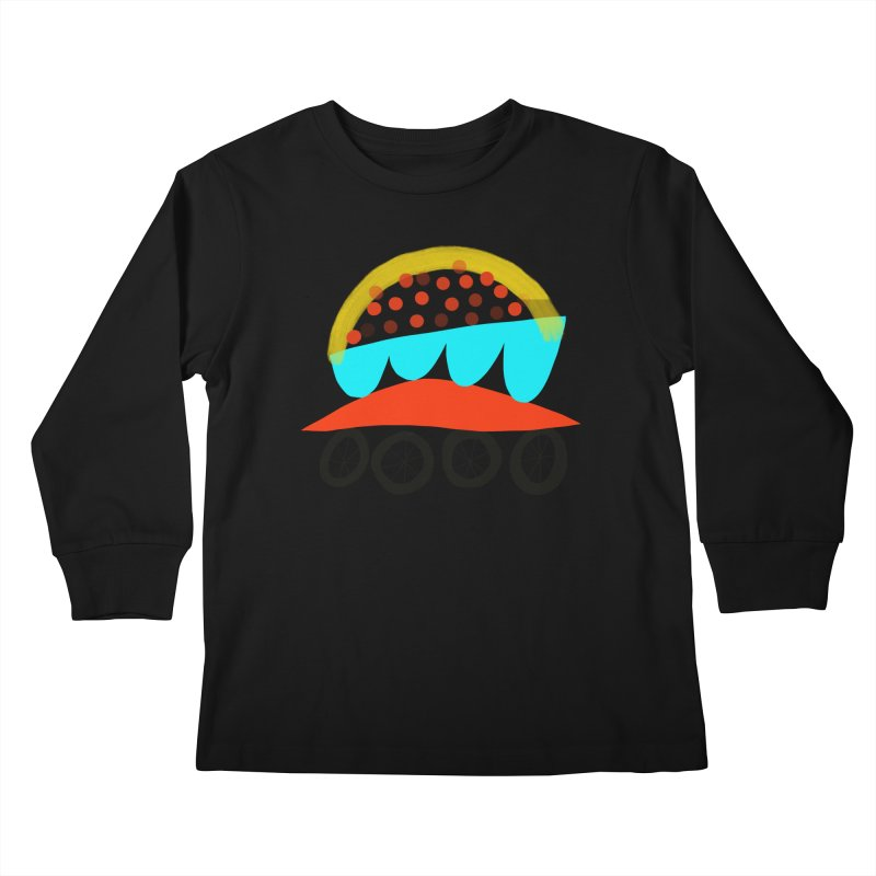 Trolley 4 Kids Longsleeve T-Shirt by Michael Pfleghaar