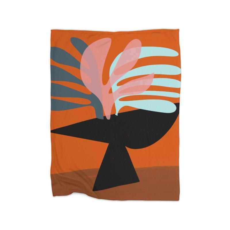 Tropical Still Life 1 Home Fleece Blanket Blanket by Michael Pfleghaar
