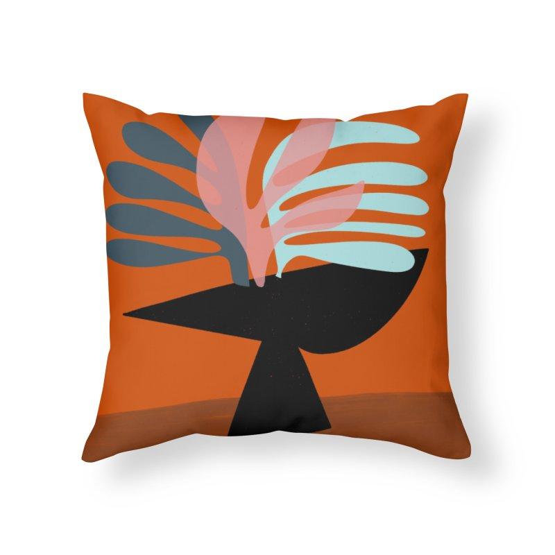 Tropical Still Life 1 Home Throw Pillow by Michael Pfleghaar
