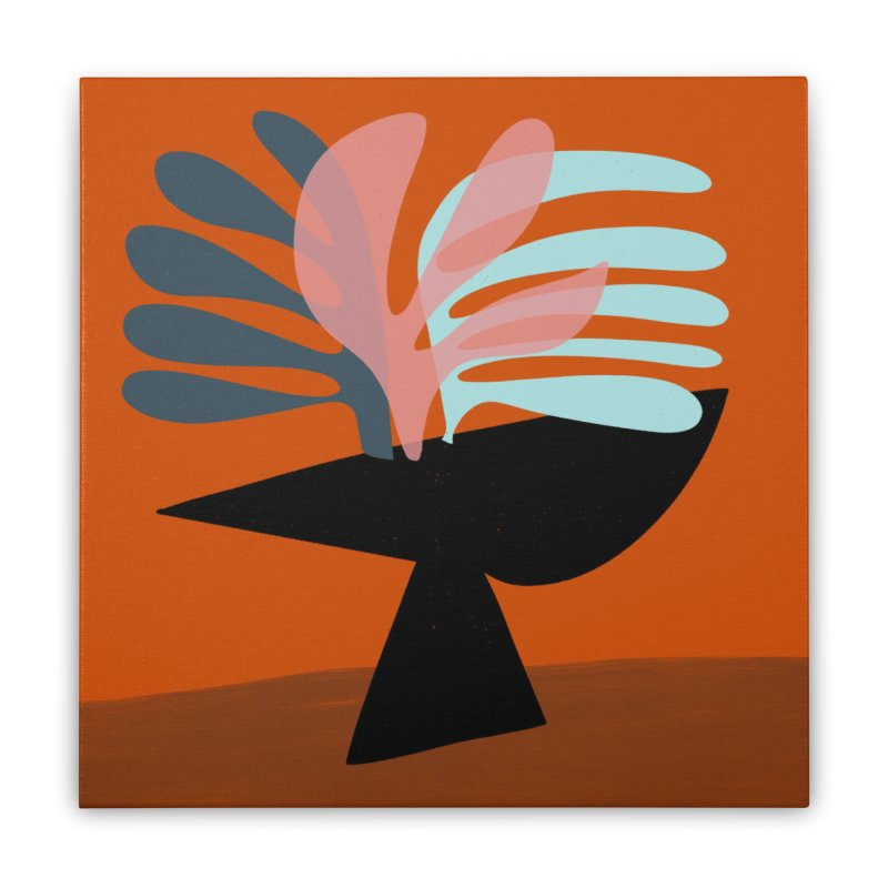 Tropical Still Life 1 Home Stretched Canvas by Michael Pfleghaar