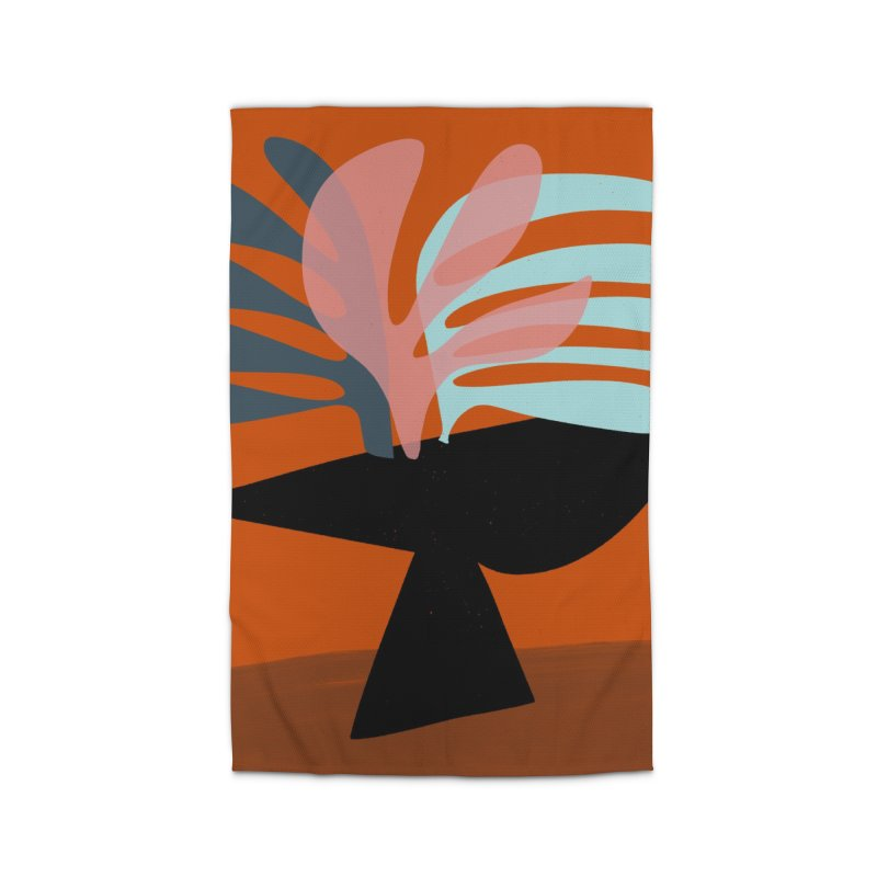 Tropical Still Life 1 Home Rug by Michael Pfleghaar