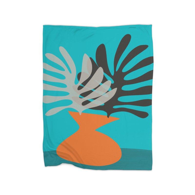 Tropical Still Life 2 Home Fleece Blanket Blanket by Michael Pfleghaar
