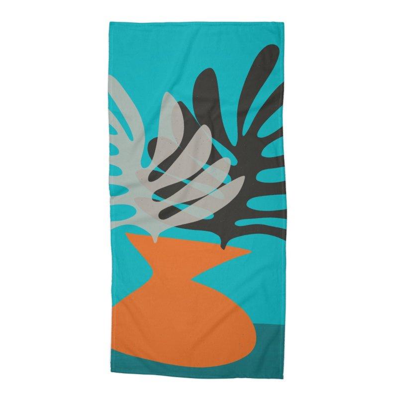 Tropical Still Life 2 Accessories Beach Towel by Michael Pfleghaar