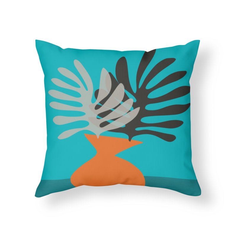 Tropical Still Life 2 Home Throw Pillow by Michael Pfleghaar