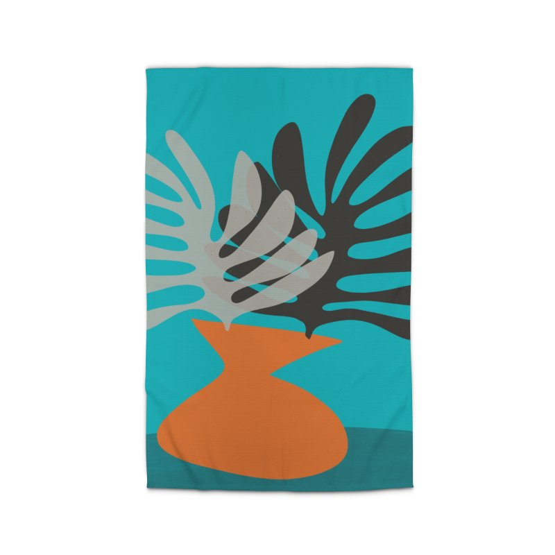 Tropical Still Life 2 Home Rug by Michael Pfleghaar