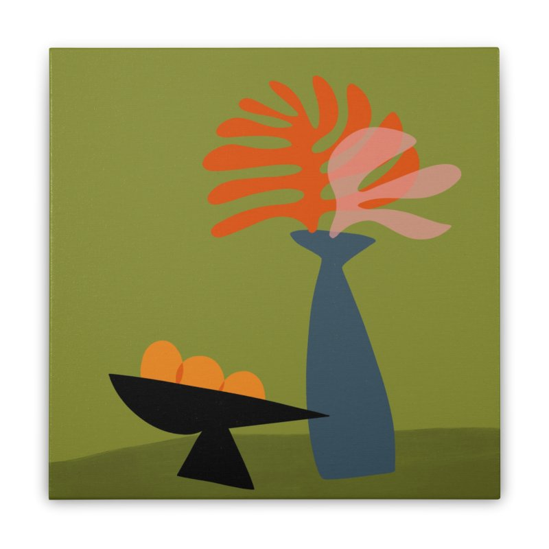 Tropical Still Life 3 Home Stretched Canvas by Michael Pfleghaar