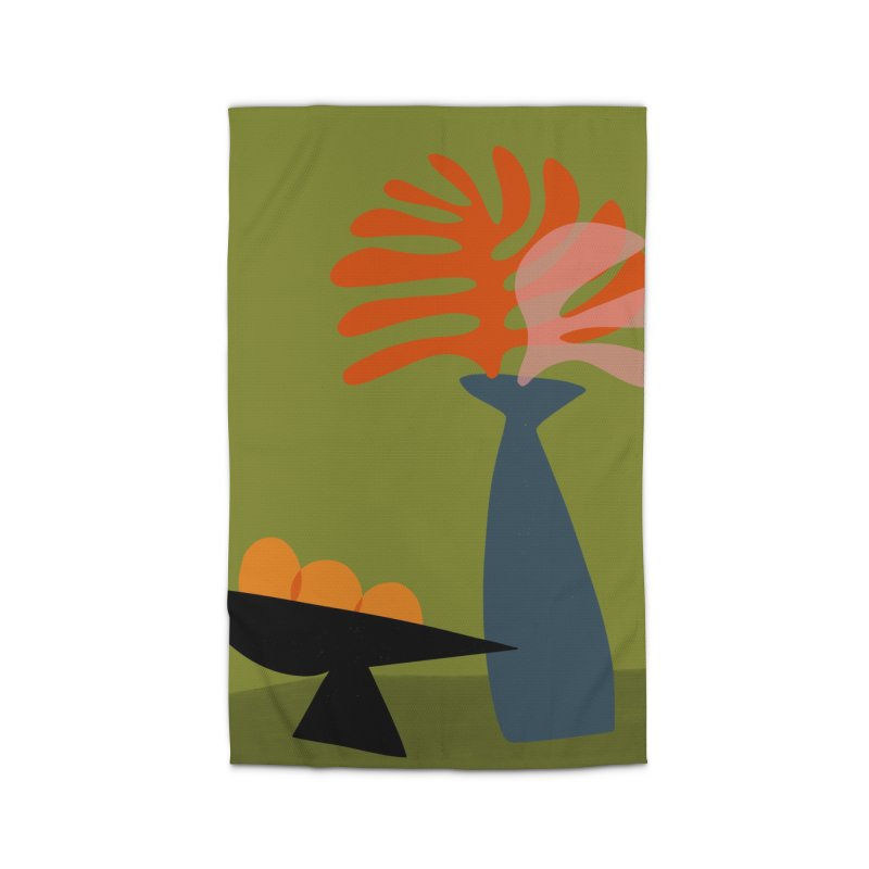 Tropical Still Life 3 Home Rug by Michael Pfleghaar