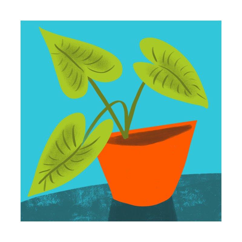 Seedlings on Aqua by Michael Pfleghaar