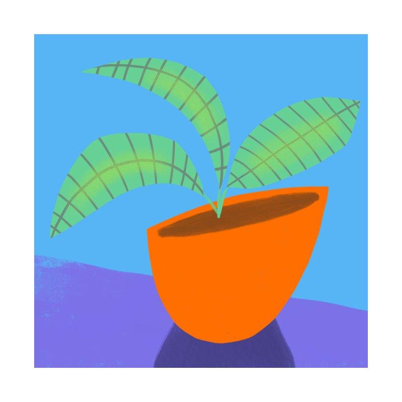 Seedlings on Blue by Michael Pfleghaar