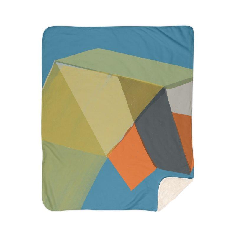 Imaginary Architecture 12 Home Sherpa Blanket Blanket by Michael Pfleghaar